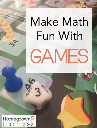 Fun Math Games For Kids Homegrown Learners