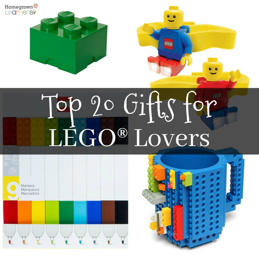Top 20 Gifts For LEGO® Lovers