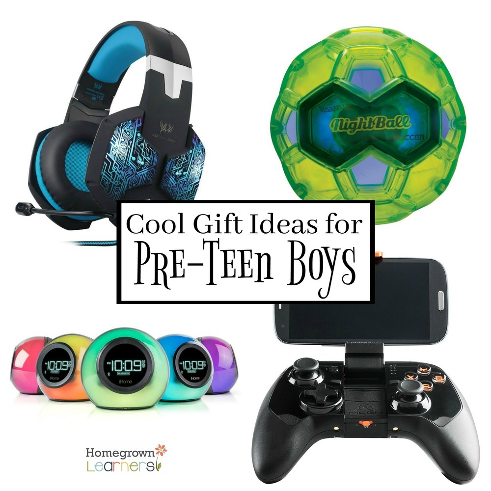 Cool gift ideas for pre teen boys homegrown learners for Funky household gifts