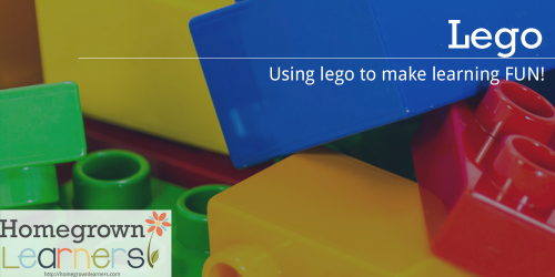 LEGO® Learning at Homegrown Learners - Using LEGO to make learning fun!