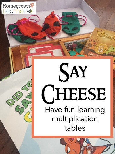 Say Cheese: The Math Game that Makes Learning Multiplication Tables fun!