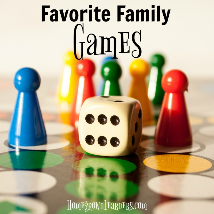 Favorite Family Games