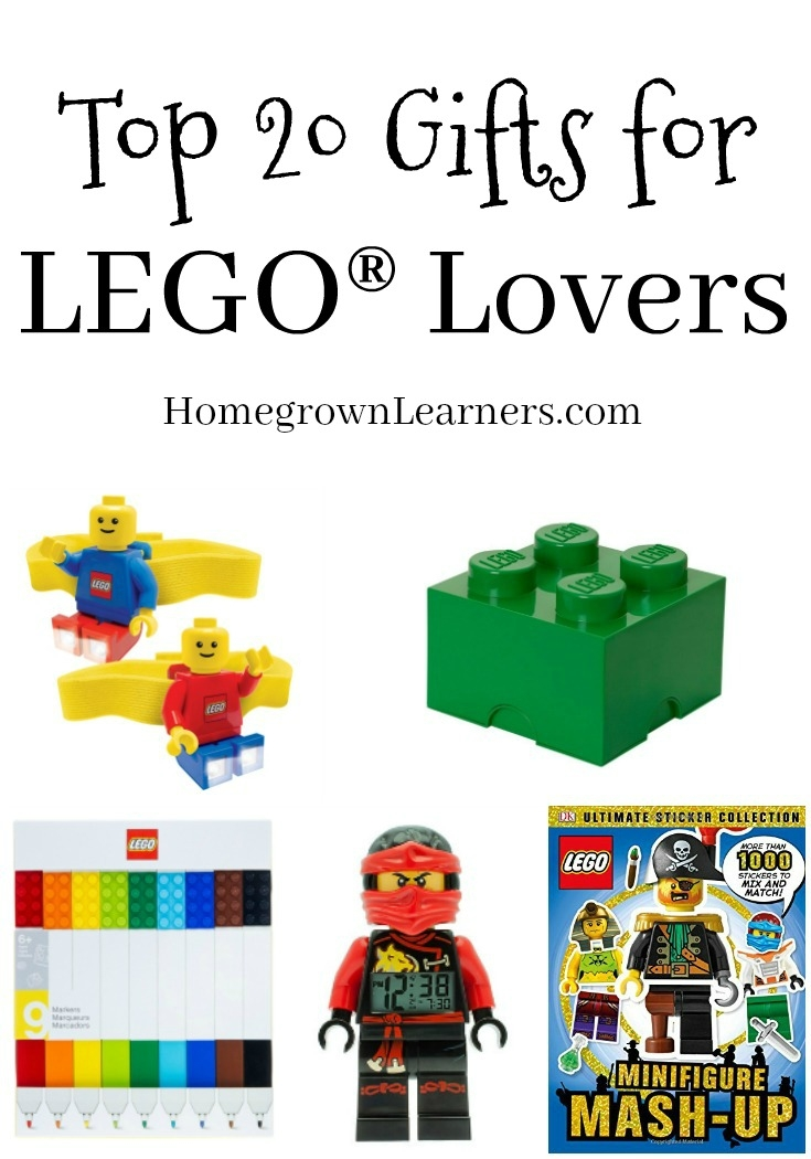 Top 20 Gifts for LEGO Lovers