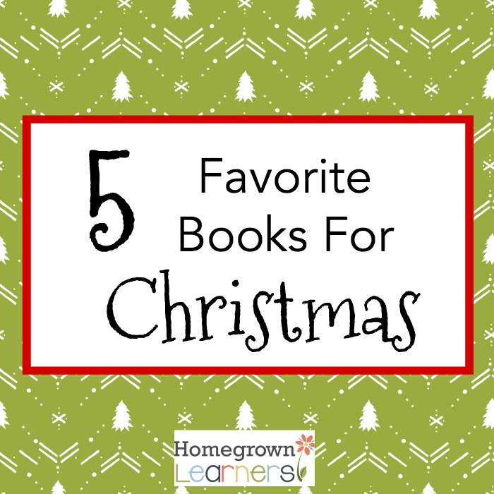 5 Favorite Books for Christmas