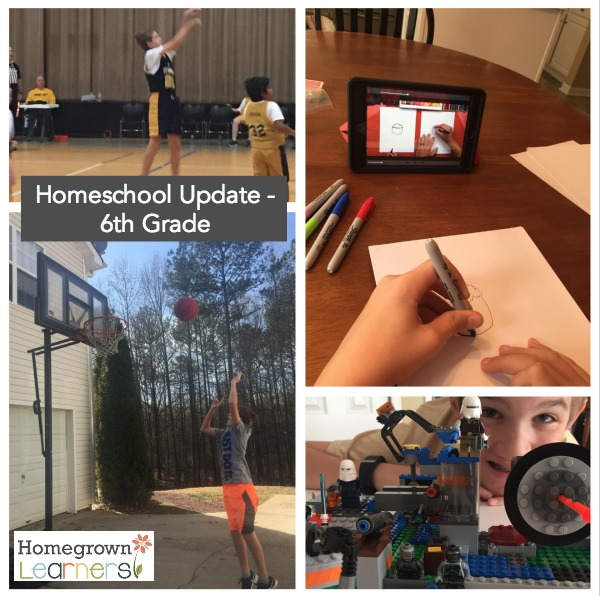 6th Grade Homeschool Update