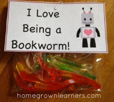 Free Valentine Printable and Book List