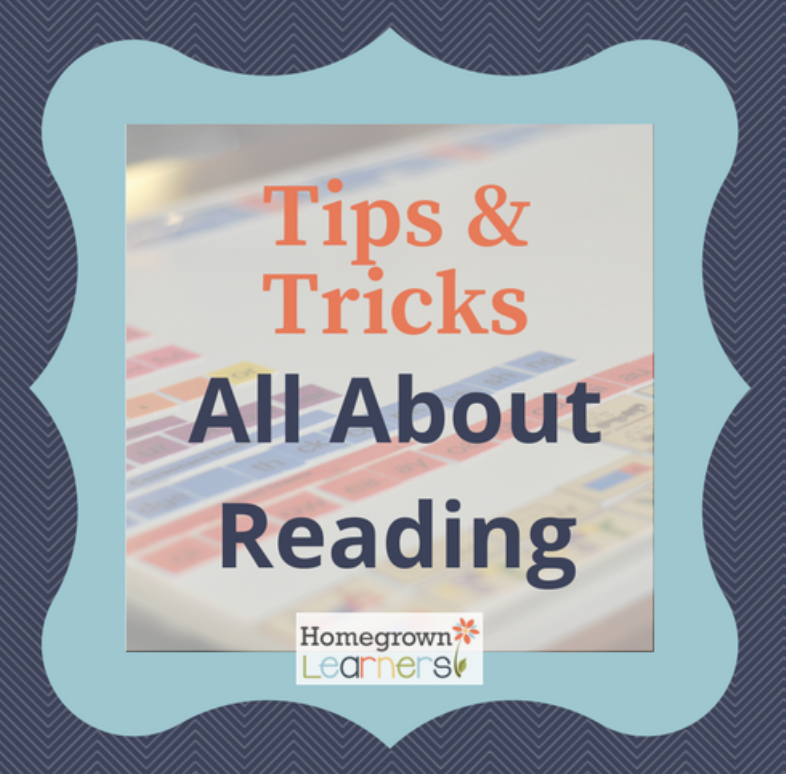 Tips and Tricks for Using All About Reading