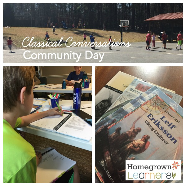 CC Community Day:  Homeschooling a 6th Grader