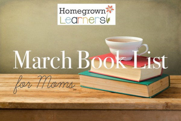 March Book List for Moms