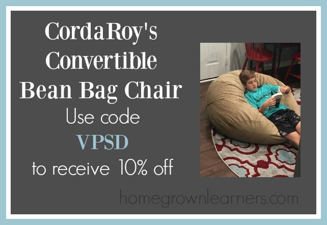 CordaRoy's - the best beanbag ever - 10% discount code
