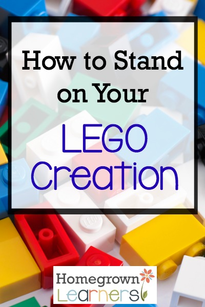 How to Stand on Your LEGO Creation
