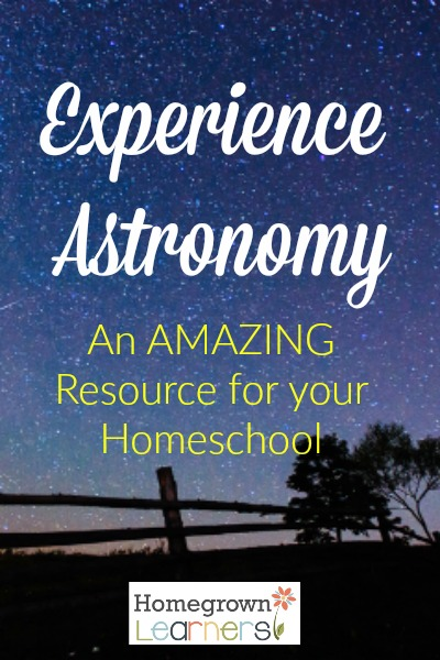 Experience Astronomy: An Excellent Resource for Teaching Classical Astronomy in the Homeschool