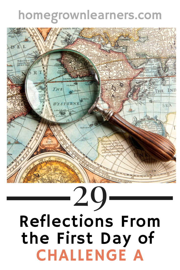29 Reflections from the First Day of CC Challenge A