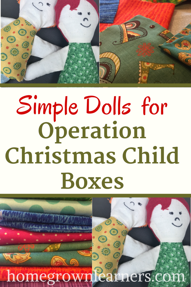 Making Dolls for Operation Christmas Child