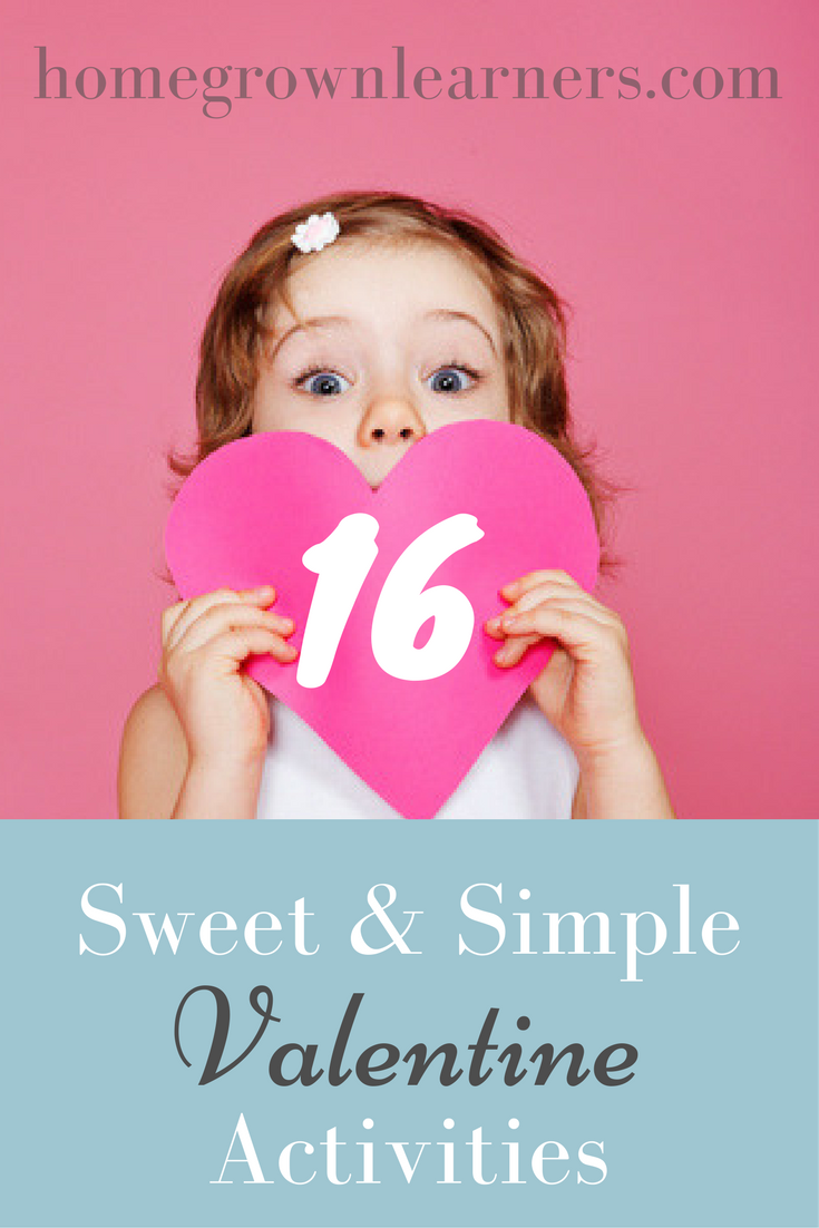16 Sweet and Simple Valentine Activities
