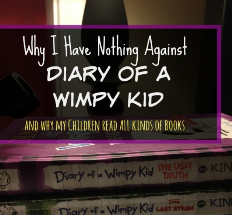 Why I Have Nothing Against The Diary of a Wimpy Kid
