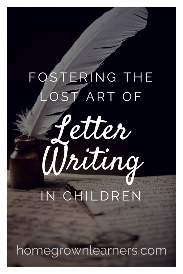 Fostering the Lost Art of Letter Writing in Children