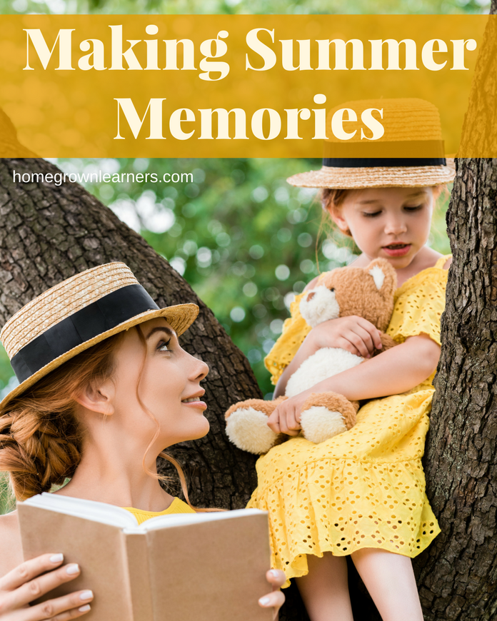 Making Summer Memories with Literature