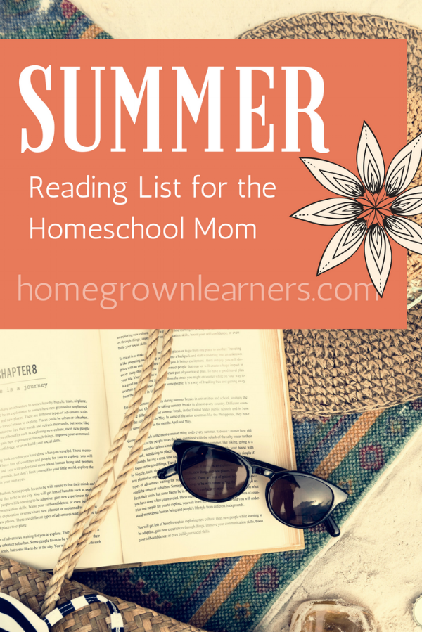 Summer Reading for Homeschool Moms