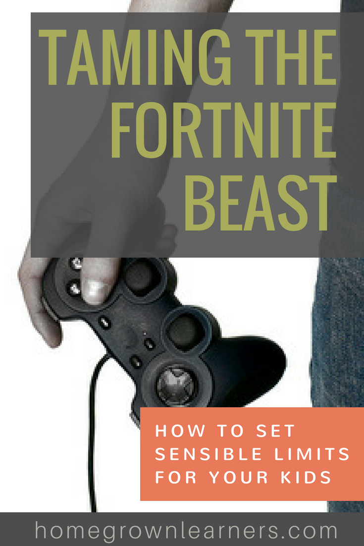 Taming the Fortnite Beast: Setting Sensible Limits for Your Kids