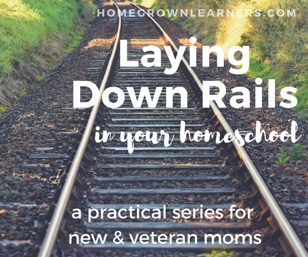 Laying Down The Rails - a Practical Series for Homeschool Mom