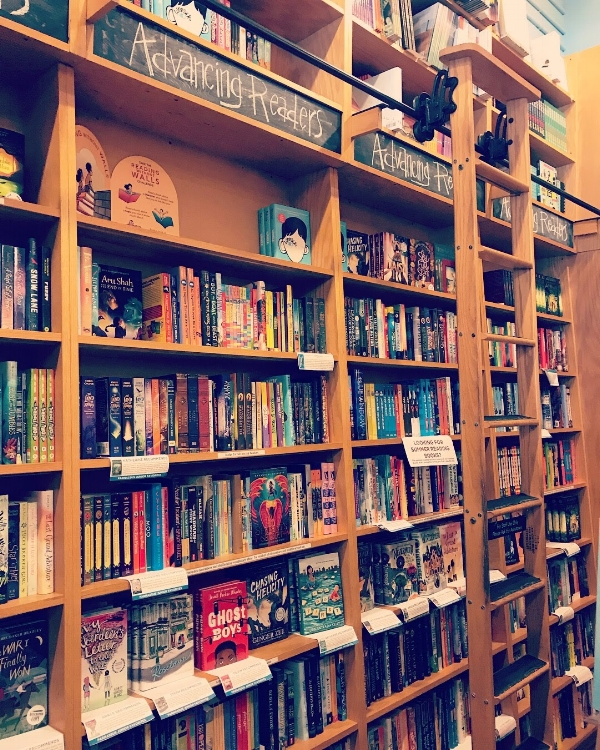 Parnassus Books in Nashville, TN -- I love searching out lovely bookstores to find recommendations for read-alouds!