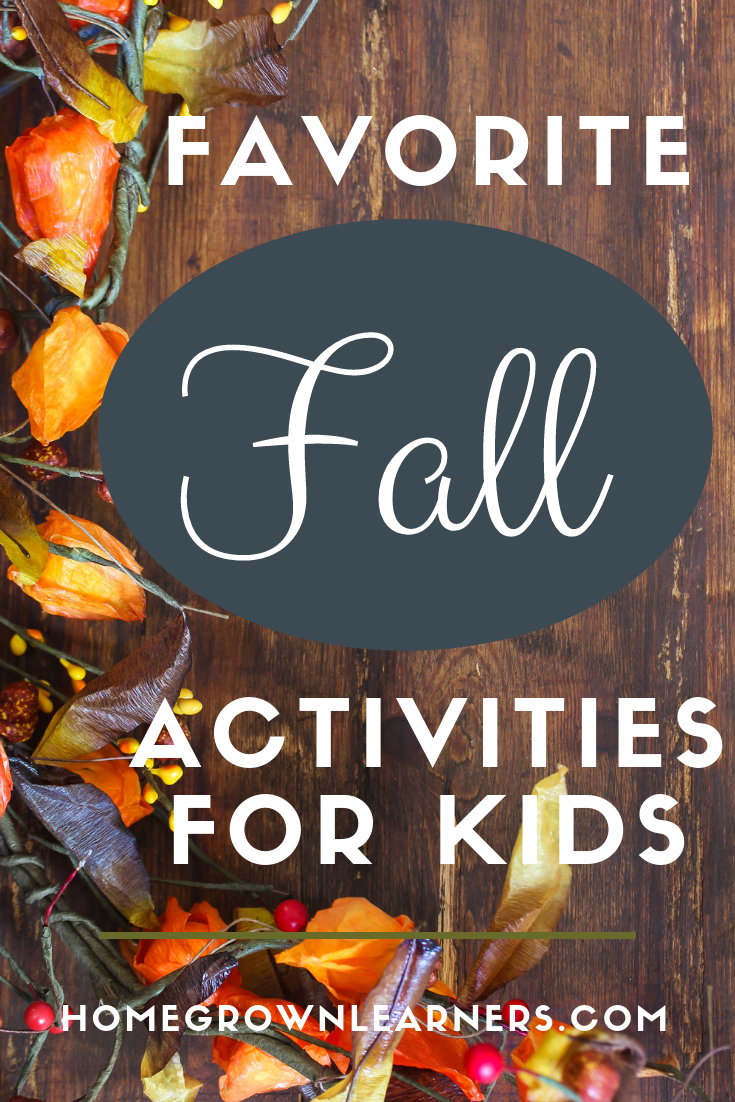 Favorite Fall Activities For Kids