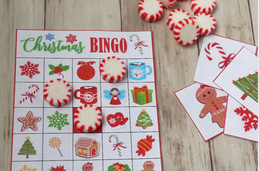 Free Christmas BINGO for Kids