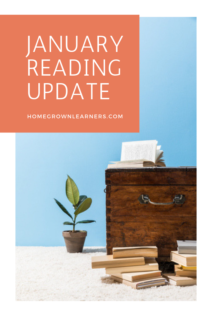 January Reading Update: books for #homeschool moms, read-alouds, professional development