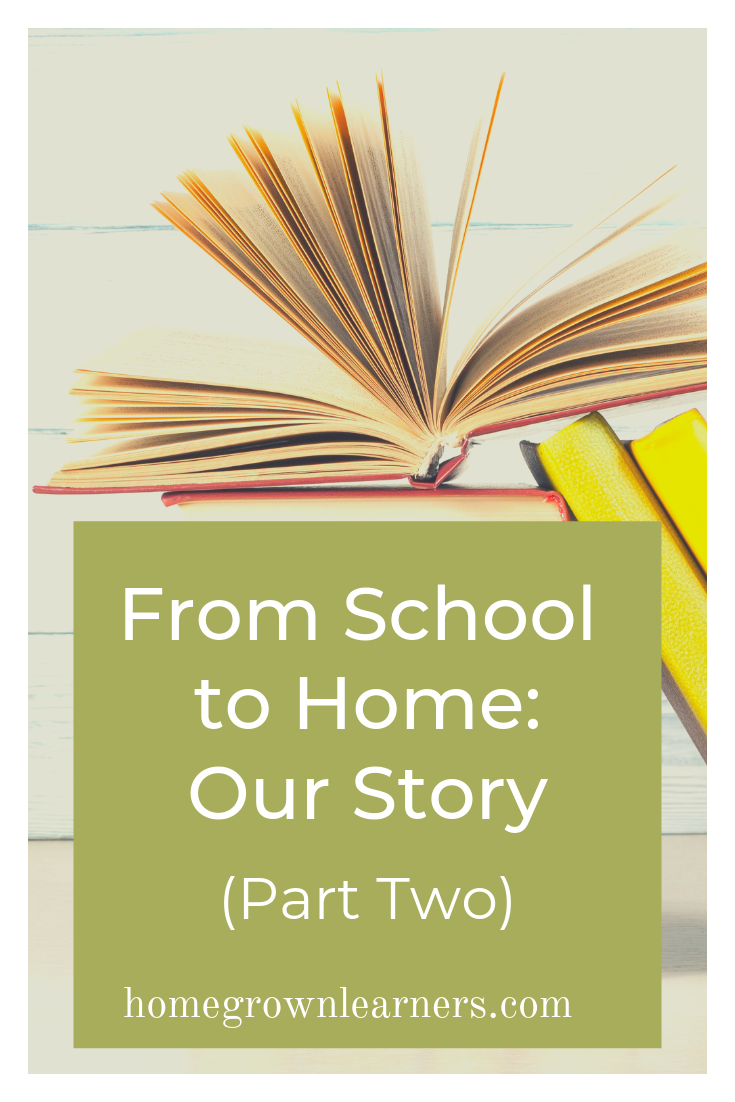 From School to Home: Our Story (Part Two) — our journey to #homeschool