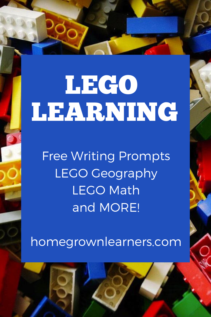 #LEGO learning resources at Homegrown Learners - free printables and MORE!