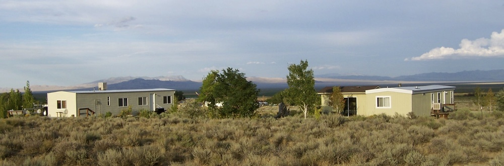END OF THE TRAIL…ER                                   THE BUNKHOUSE at Home on the Range                      Great places to stay six miles from Great Basin National Park.