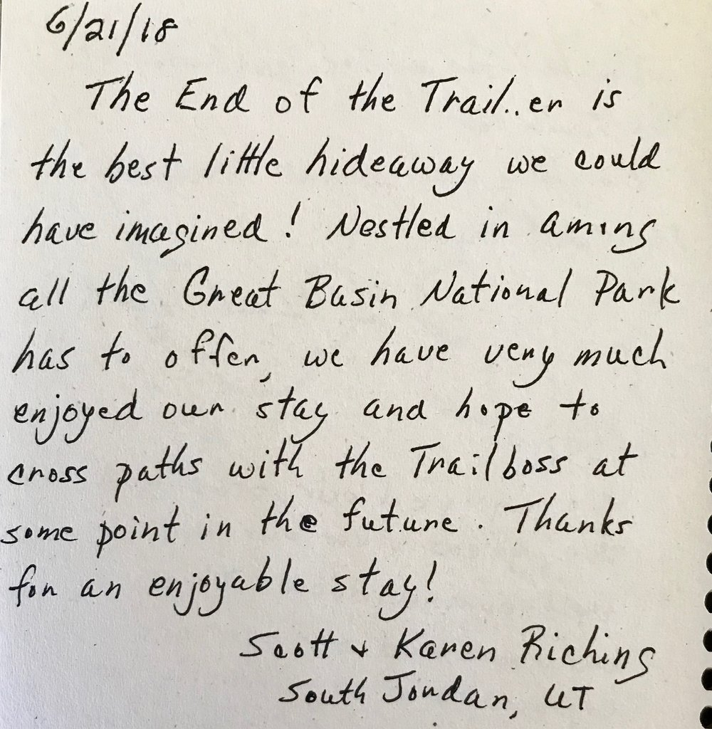 thank you scott and karen. happy trails to you.