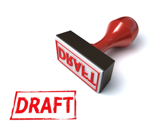 how to write a draft report