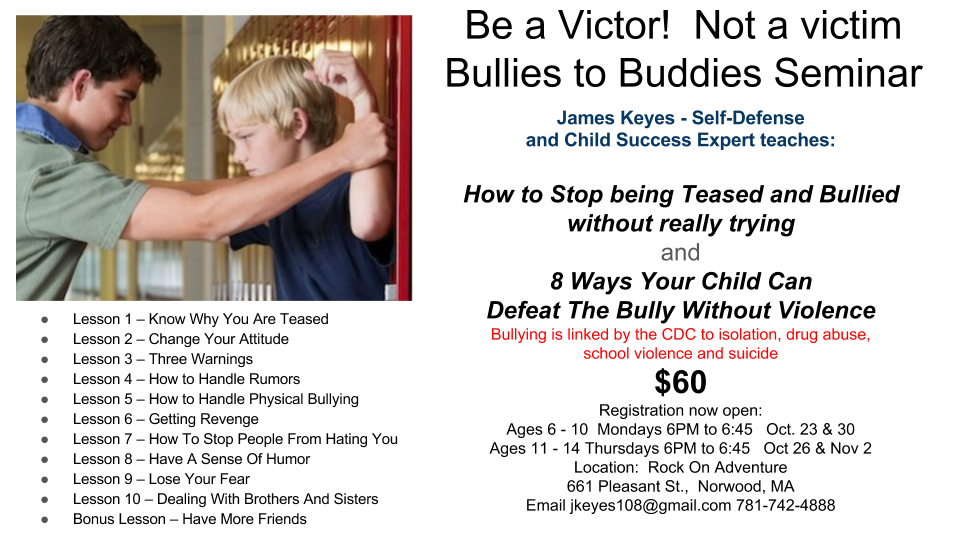 Bullies to Buddies Seminar.png