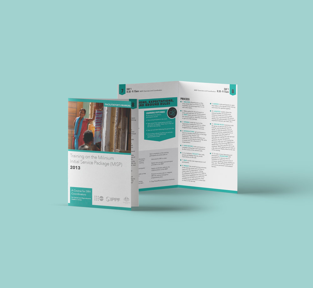 Client SPRINT and UNFP Product Training Manual Booklet Skills Graphic Design, Illustration