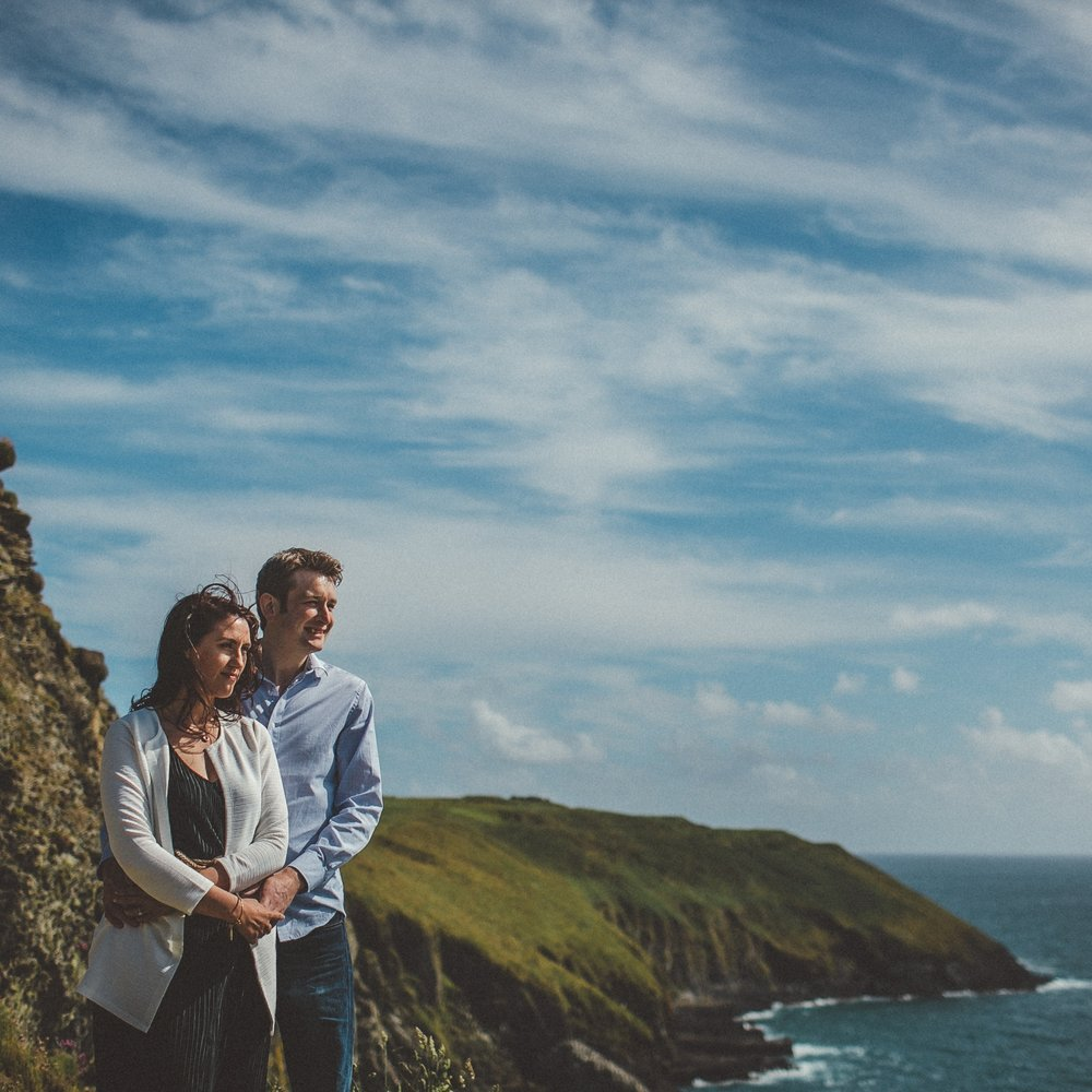 Dawn + James Explore Cork  // Couple Shoot