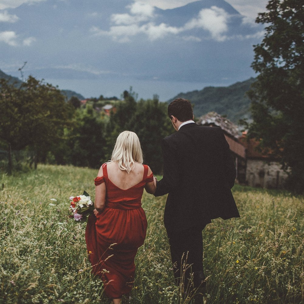 Natasha + Phil's Lake Como Couple Shoot