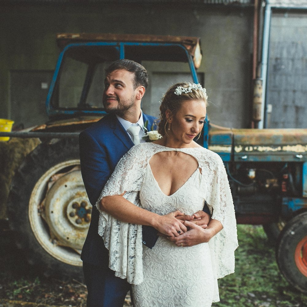 Ciara + Andrew // Loughcrew Estate and Gardens