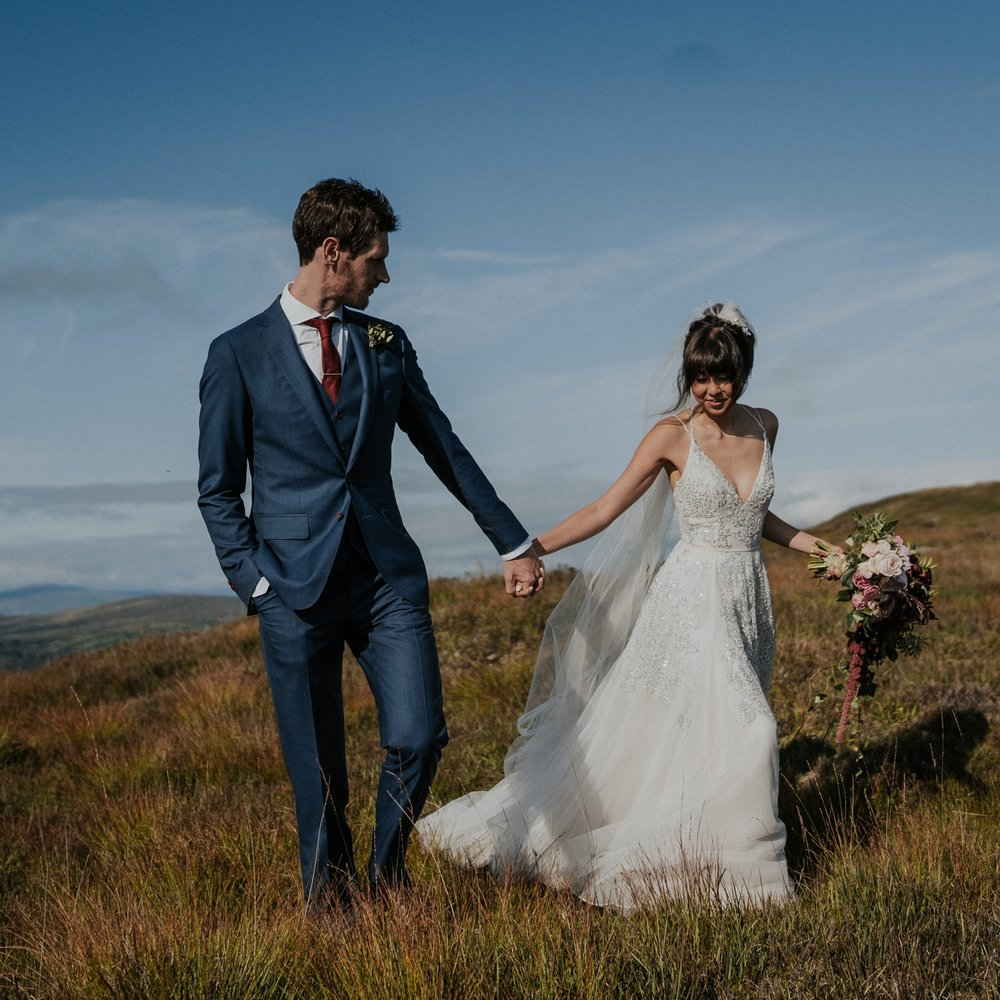 Janice + James // Blairscove House