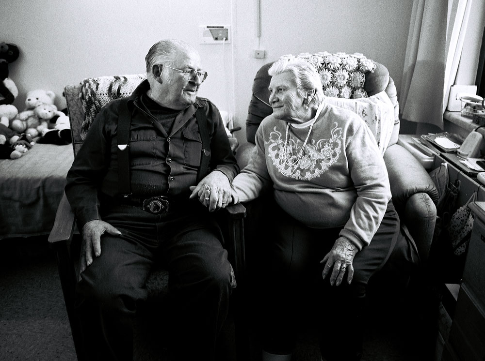 """Gordon and Lillian from the """"Who Are You, Galway, NY?"""" project."""