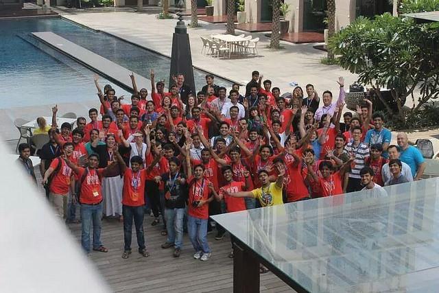 MozCamp attendees in Bangalore, India. [photo credit: Biraj Karmakar]