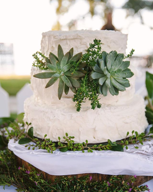 Let them eat cake! Wedding cake 😊  #southernwedding #weddingcake #weddingfilm #engaged #marthastewartweddings #shesaidyes
