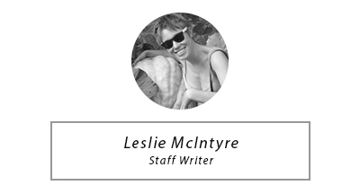 Leslie McIntyre - Staff Writer