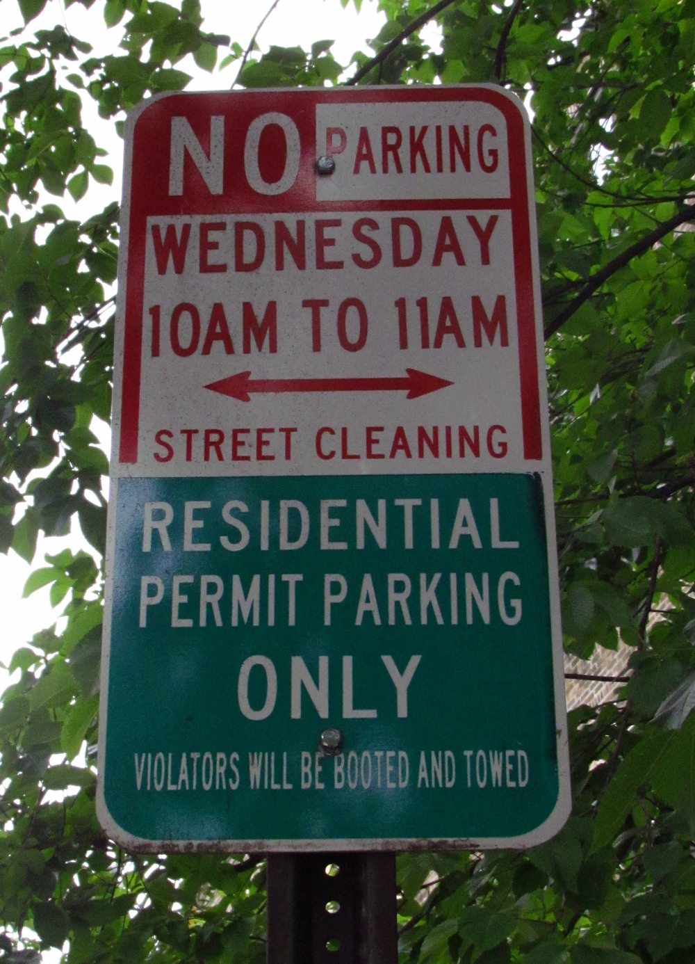 Resident Parking  Hoboken residents may park on either side of the street.