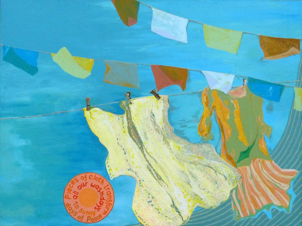 Domestic Prayer Flags