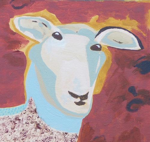 Sheep-shape detail