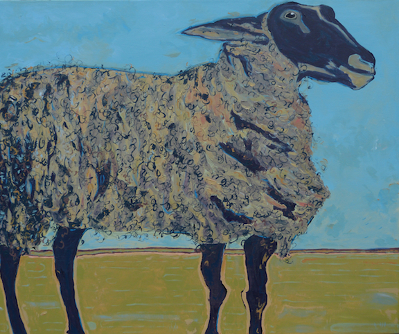 Proud to be a Sheep ($600, sold)