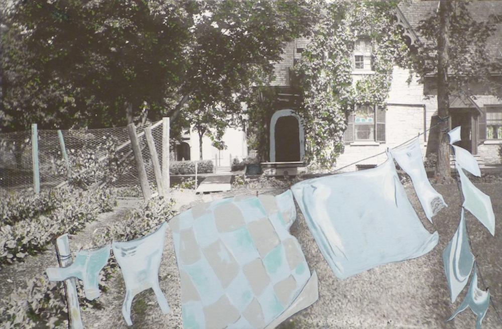 Greystone Manor: Gardens & Clotheslines