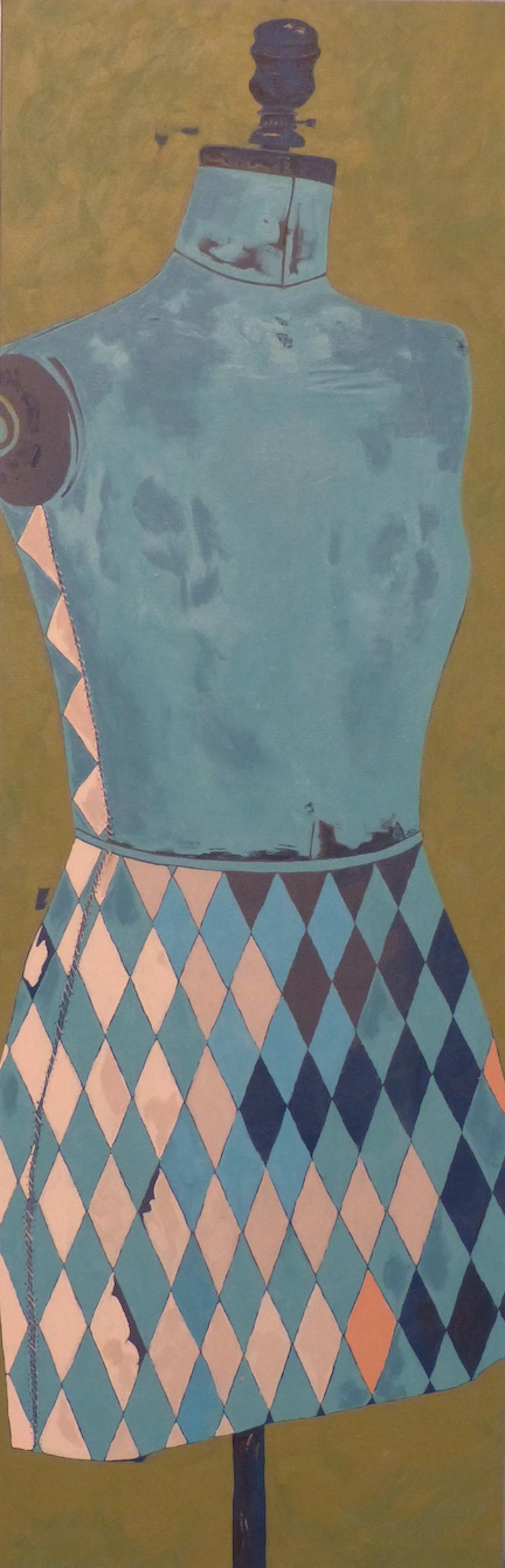 Jacquard Pattern Dressmaker's Form Size 16